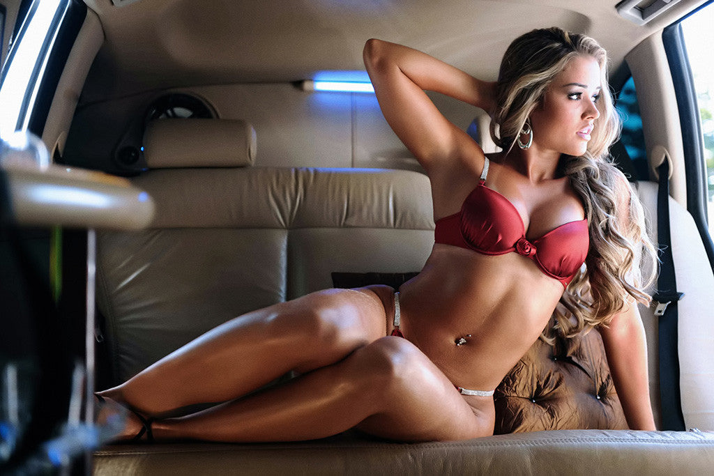Hot Girl Piercing Bikini Car Auto Poster – My Hot Posters