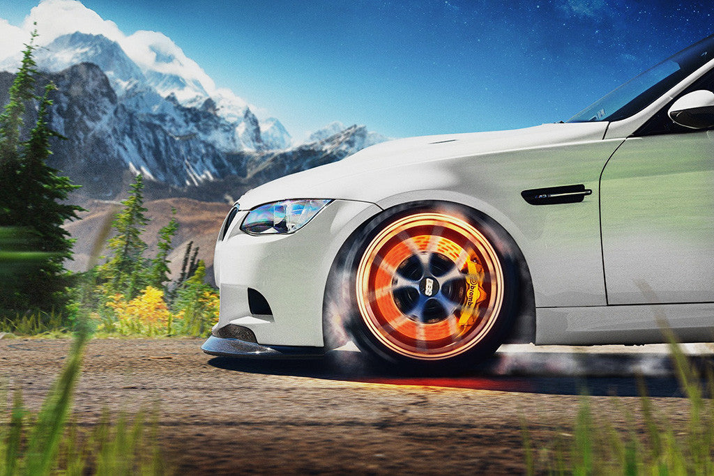 BMW 3 Series M3 Car Auto Poster