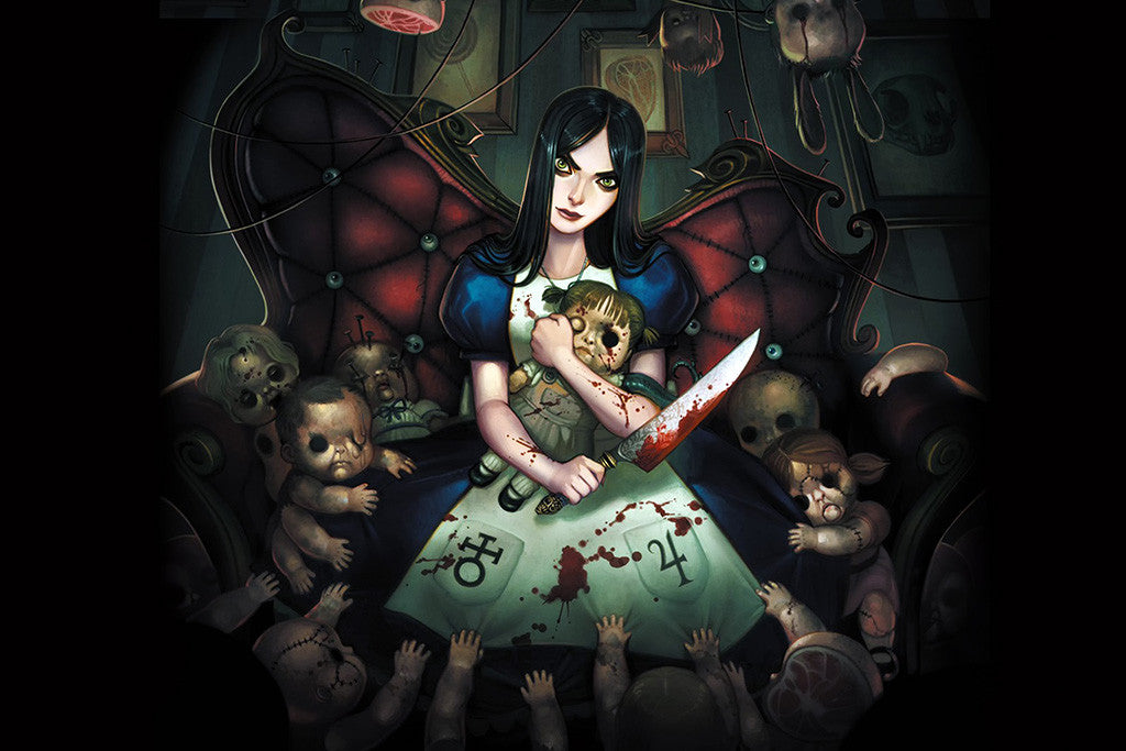 Alice Madness Returns American Mcgee's Poster