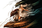 Daenerys Targaryen Dragons Game Of Thrones Hot Poster
