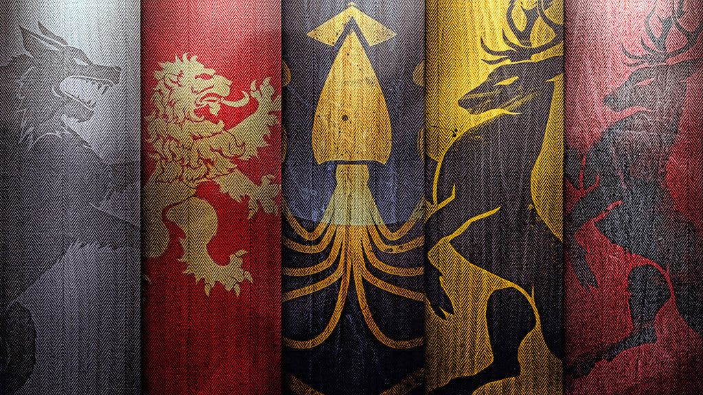 Game Of Thrones Houses Poster
