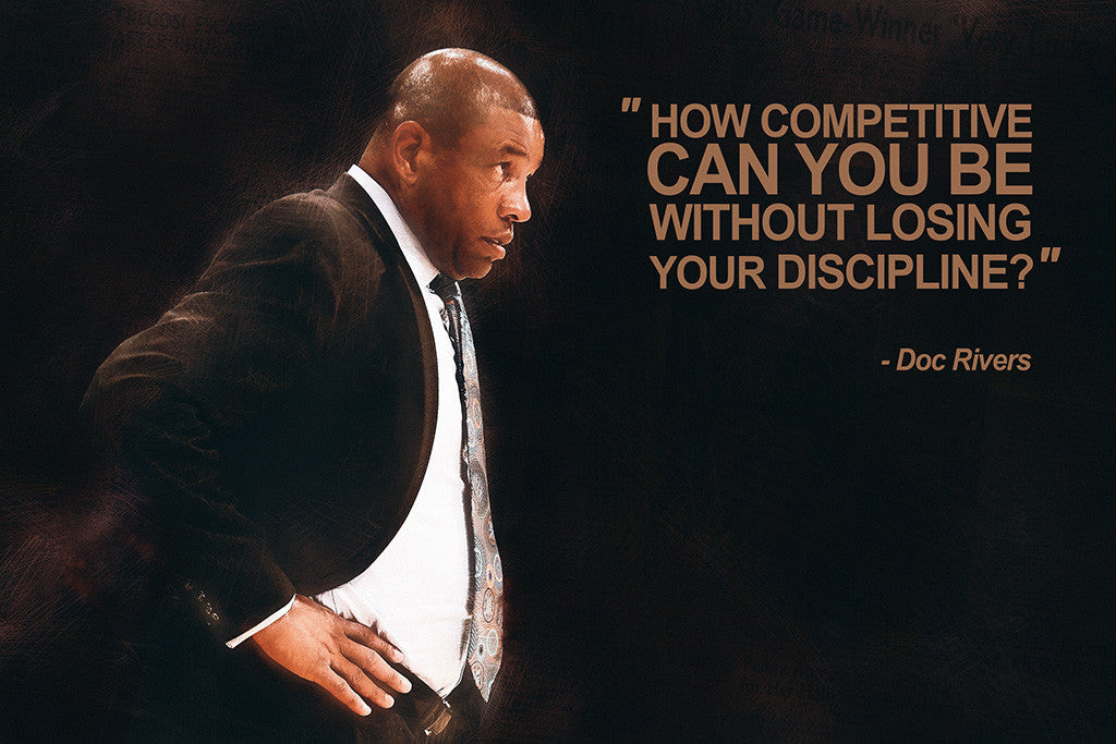 Doc Rivers Quotes NBA Basketball Sayings Poster