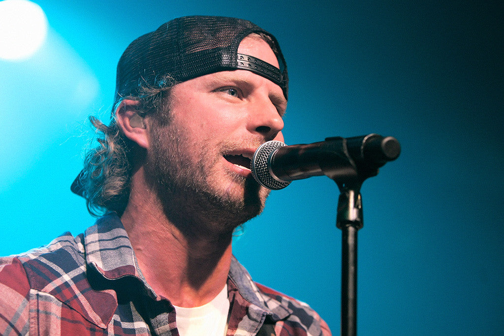 Dierks Bentley Face Close Country Music Poster