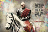 Tywin Lannister GOT Game of Thrones Quotes Poster