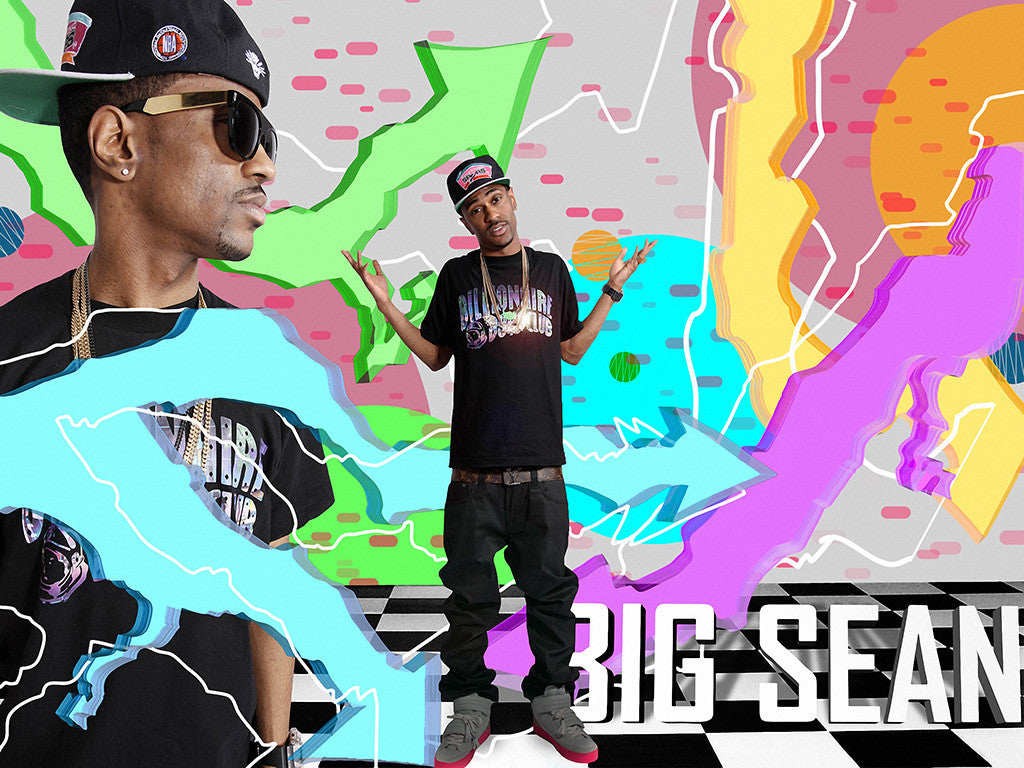 Rapper Big Sean Colorful Music Poster