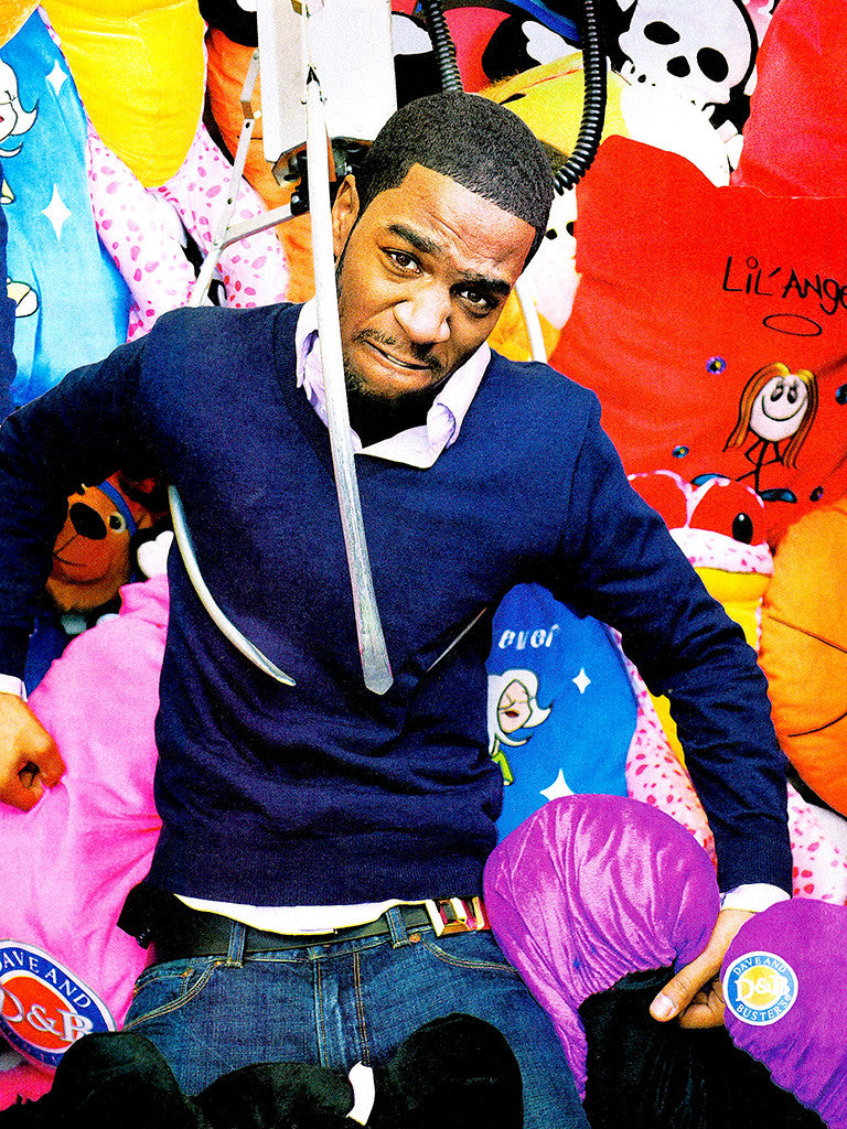 Rapper Kid Cudi Colorful Music Poster