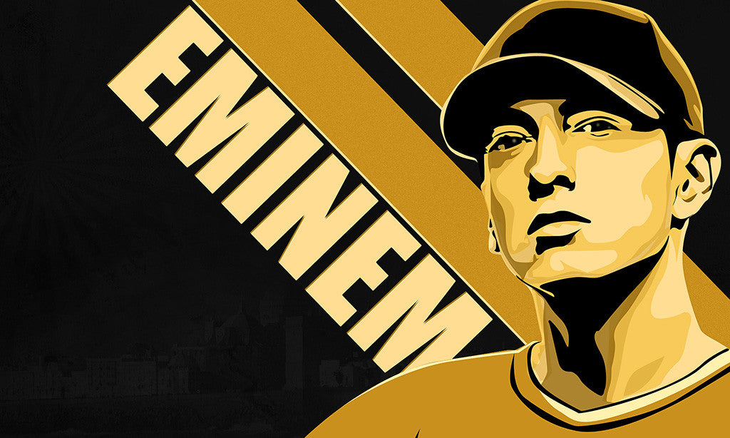 Eminem Hip Hop Rap Music Poster