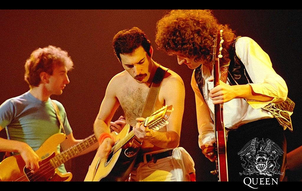 Queen Freddie Mercury Rock Music Poster