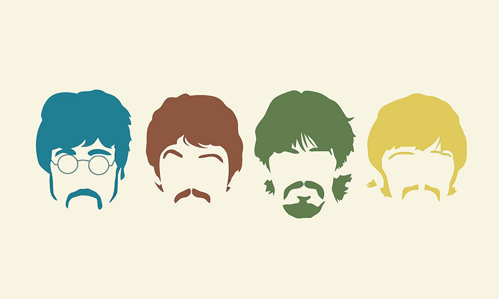 The Beatles Music Poster