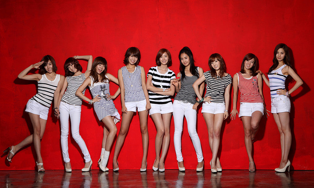 SNSD Asian Hot Sexy Girls Generation Music Poster