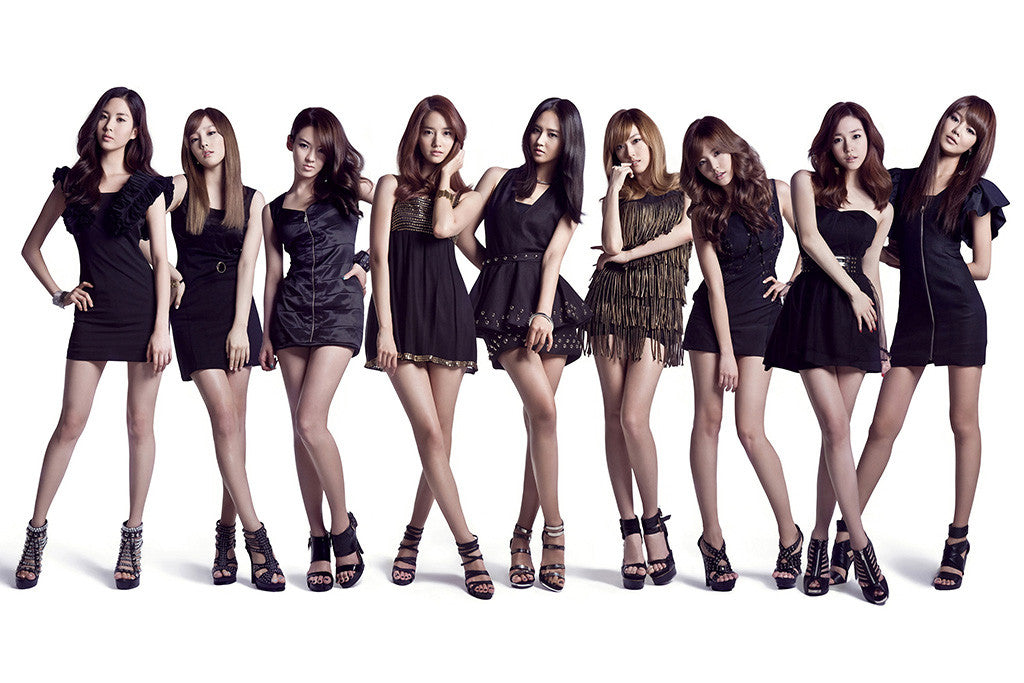 SNSD Asian Hot Sexy Girls Short Skirts Music Poster