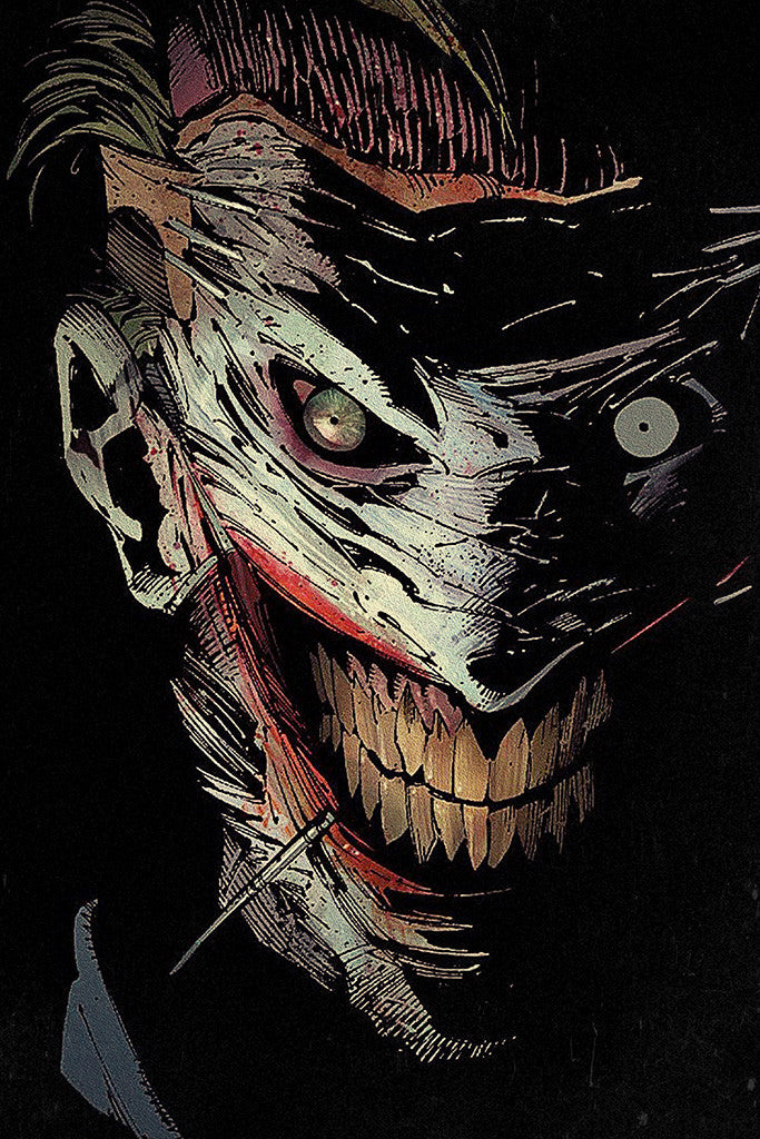 Batman Joker Comics Poster