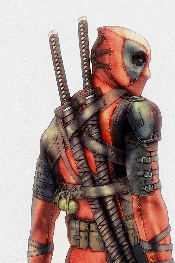 Deadpool Comics Poster
