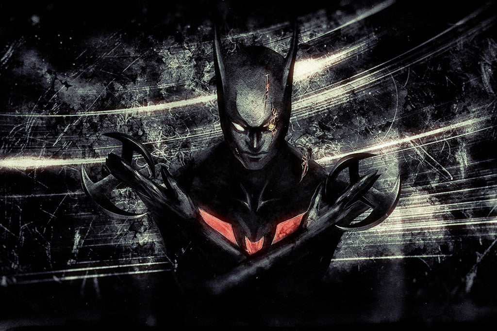 Batman Beyond Comics Poster