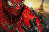 SpiderMan Spider Man Spider-Man Black Comics Poster