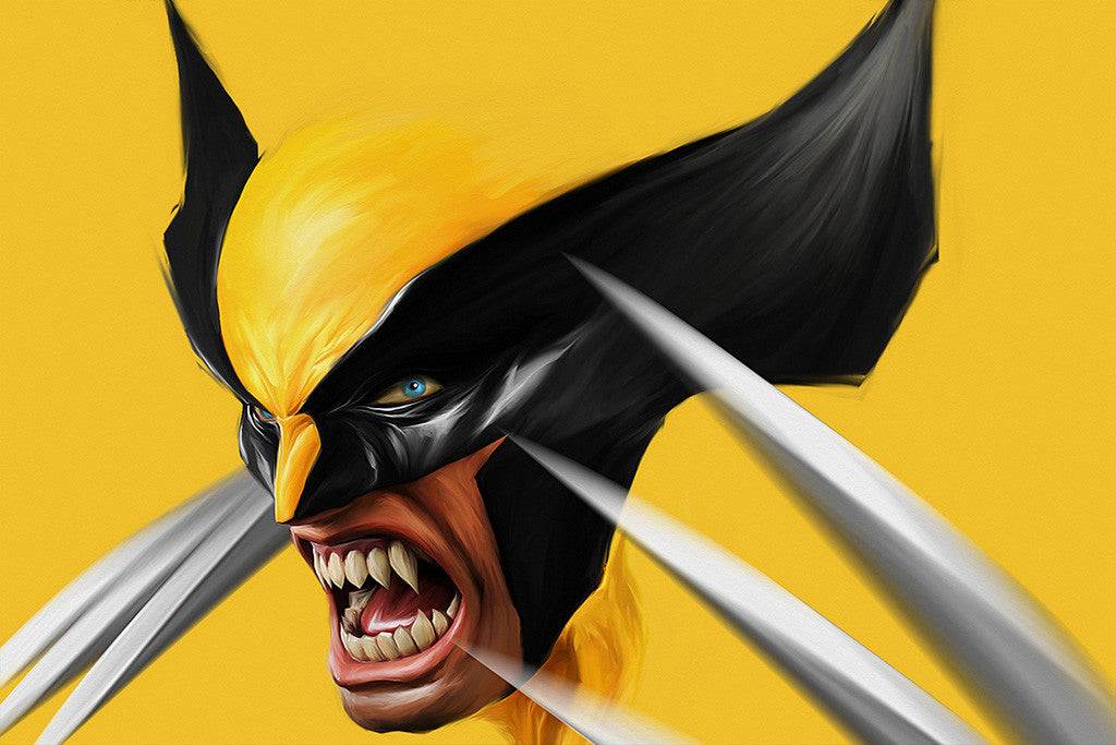 Wolverine X-Men Comics Poster