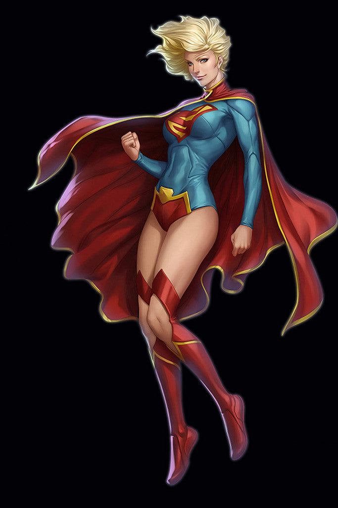 Supergirl Superman Comics Hot Girl Poster