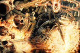 Ghost Rider Fire Comics Poster