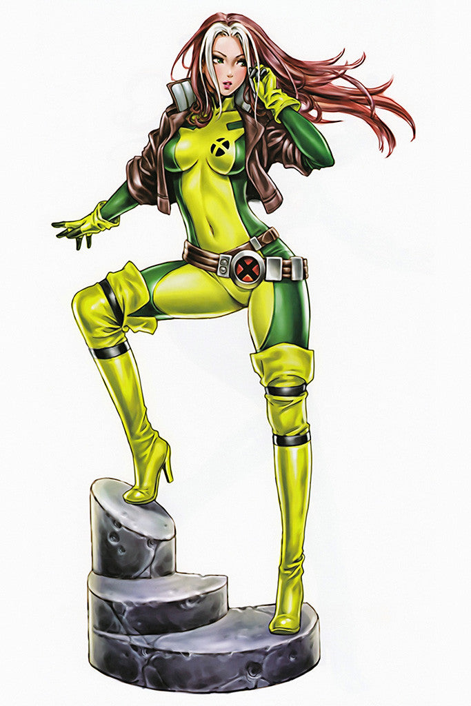 Woman Girl Rogue X-Men Superhero Comics Poster