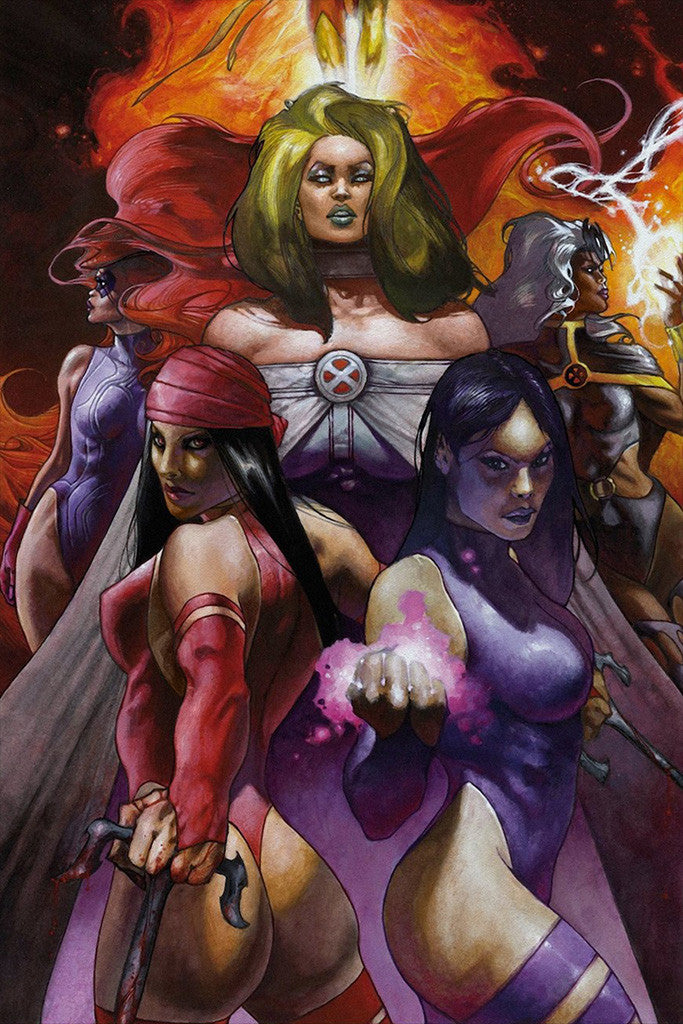 Hot Women Girls Comics Superheroes Poster