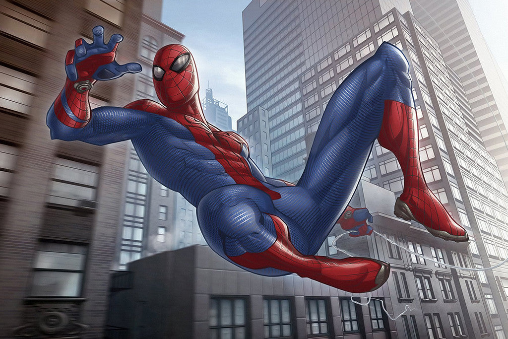 The Amazing Spider-Man Speder Man Comics Poster