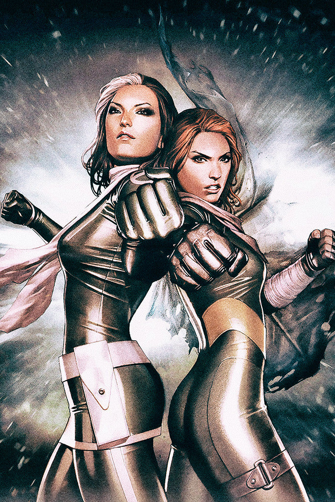 Hope Summers Rogue Hot Comics Girls Poster