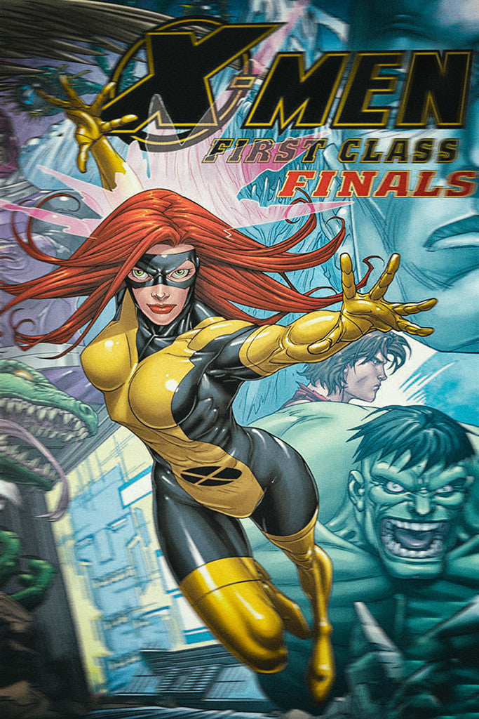 X-Men Frirst Class Finals Rogue Hot Girl Comics Poster