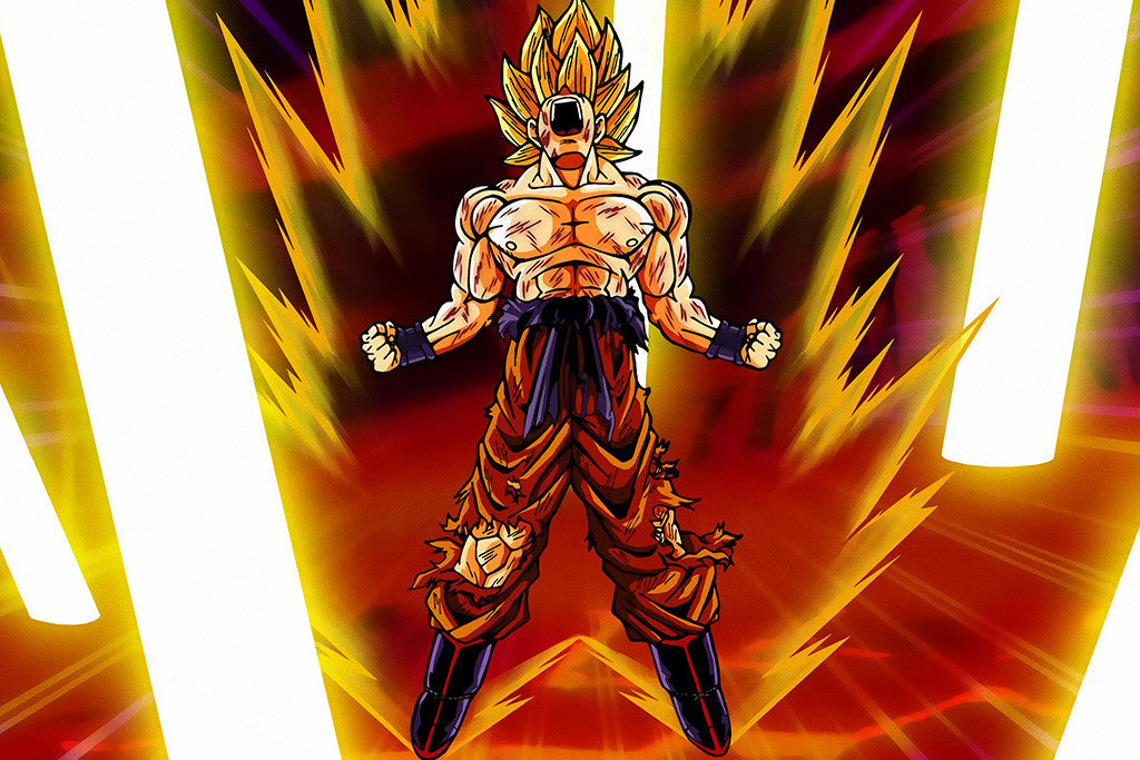Dragon Ball Z Goku Poster