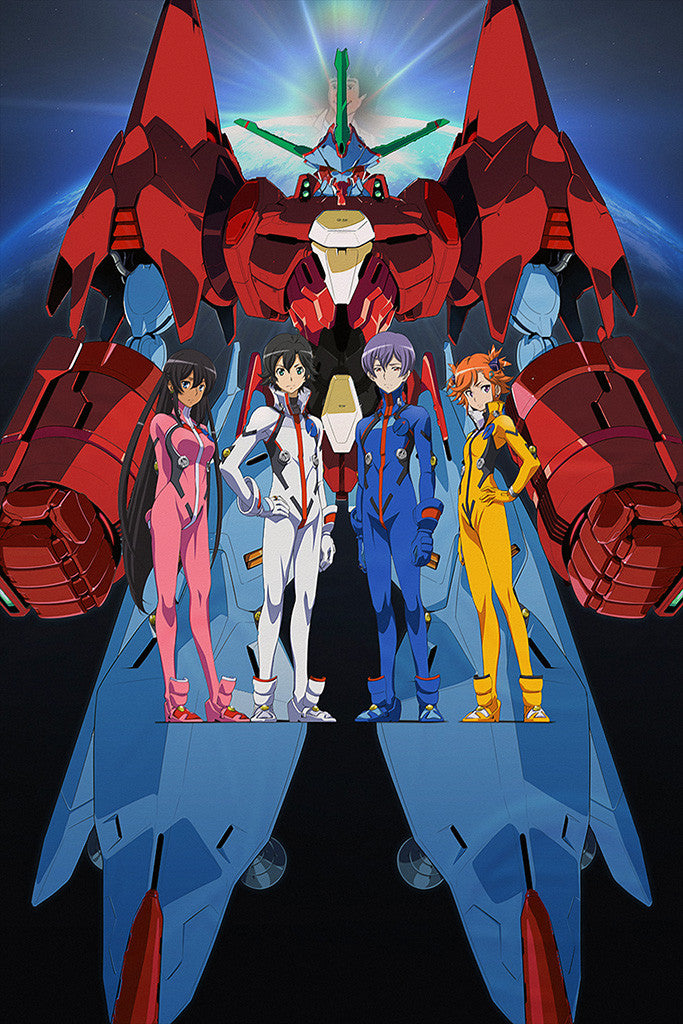 Captain Earth Anime Poster