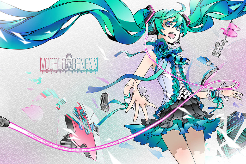 Vocaloid Game Anime Miku Hatsune Poster