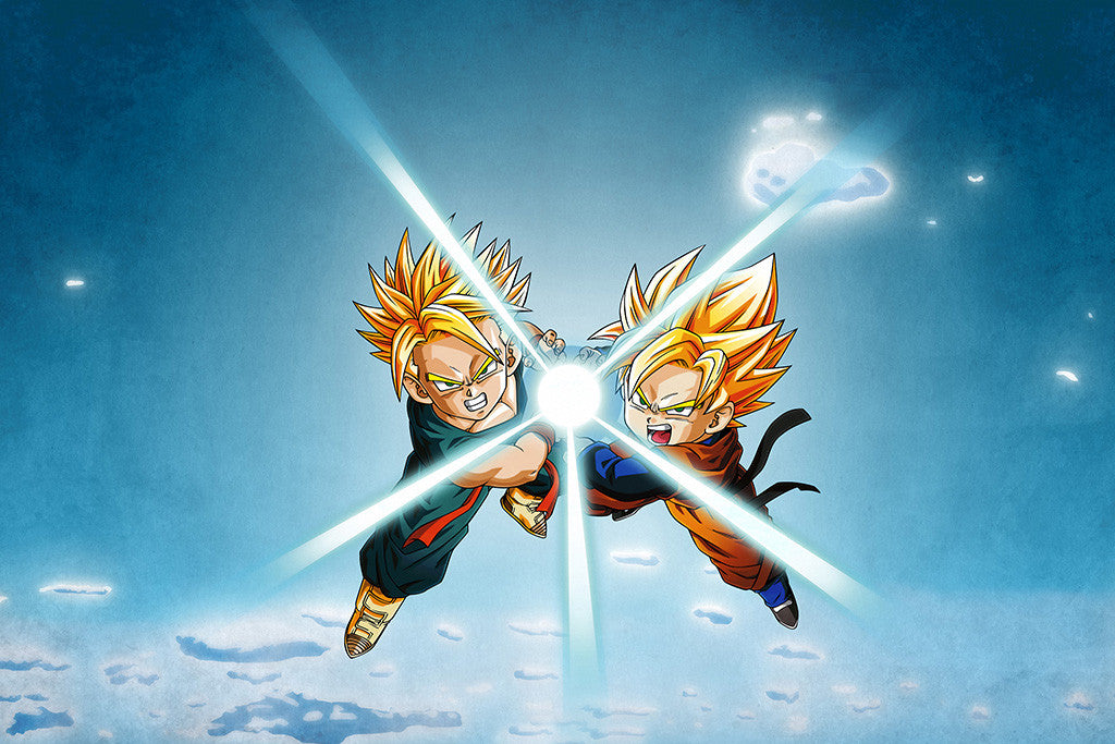Dragon Ball Z Goten And Trunks Anime Poster