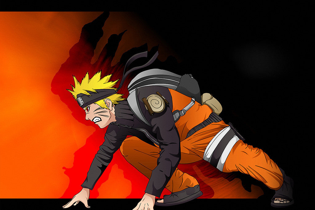Naruto Run Anime Poster