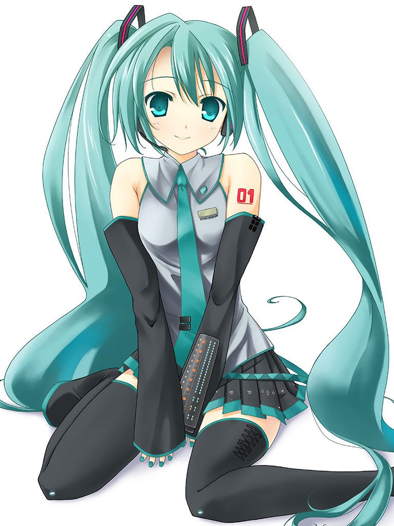 Hot Girl Vocaloid Hatsune Miku Anime Poster