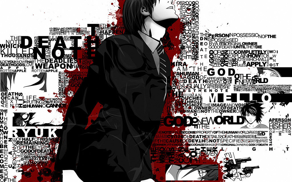 Death Note Blood Anime Poster