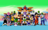 Dragon Ball Z All Characters Anime Poster