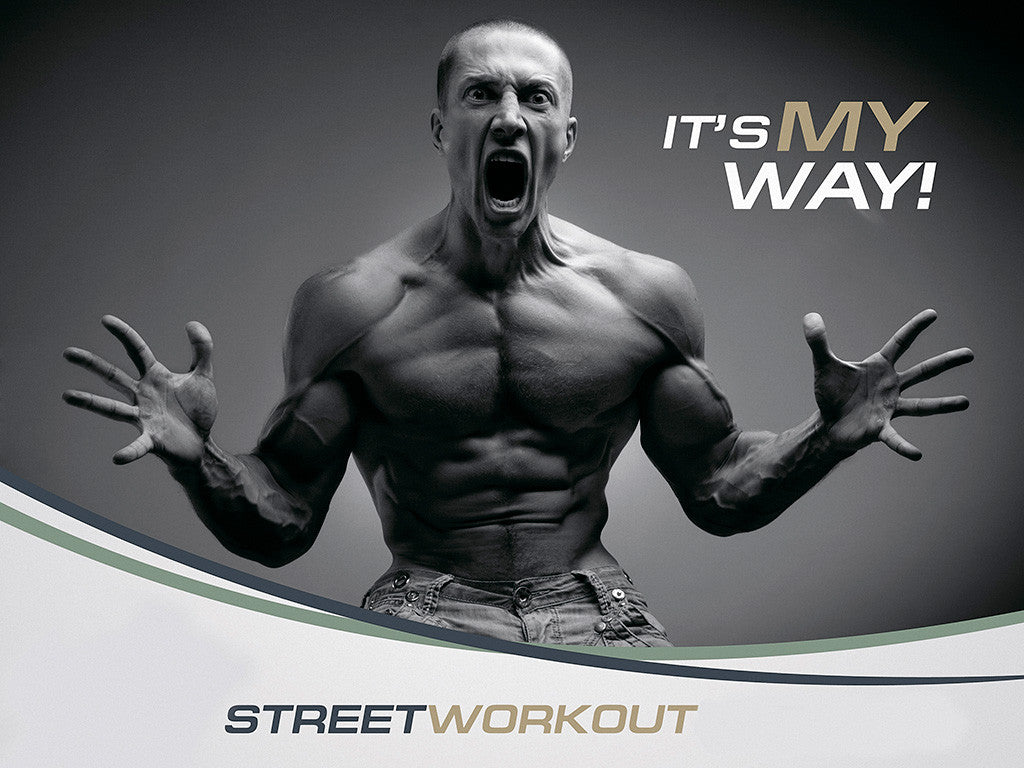 Bodybuilding Body Street Workout Poster