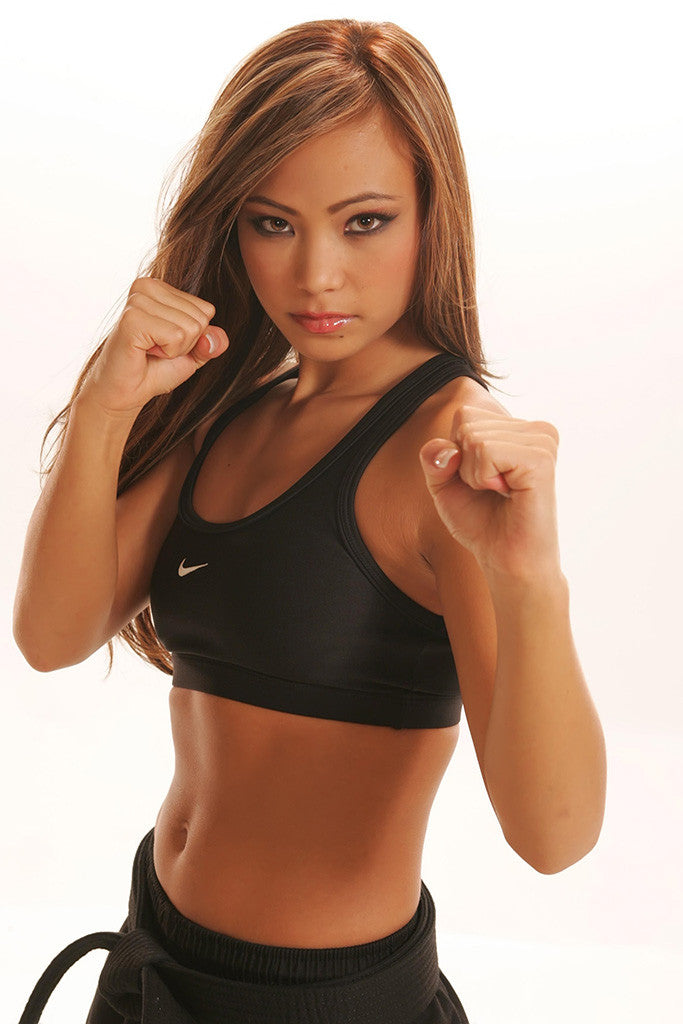 Michelle Waterson The Karate Hottie Hot Girl Fighter MMA Poster