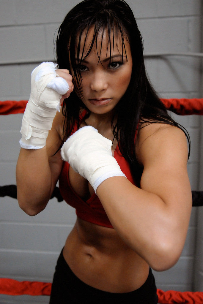 Michelle Waterson The Karate Hottie Ring Hot Girl Fighter MMA Poster