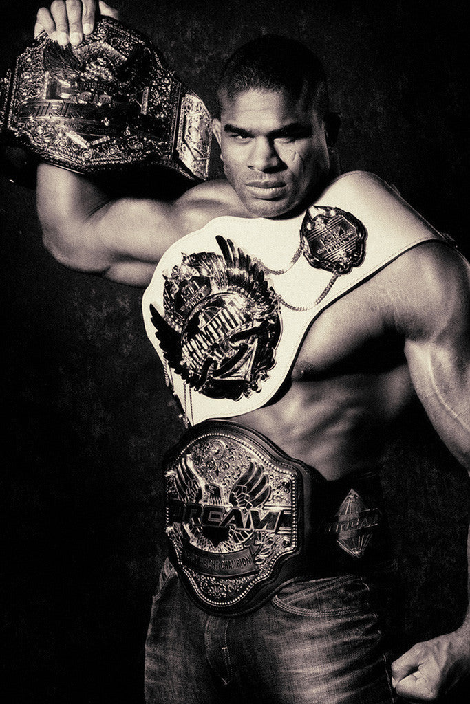 Alistair Overeem MMA Fighter Poster