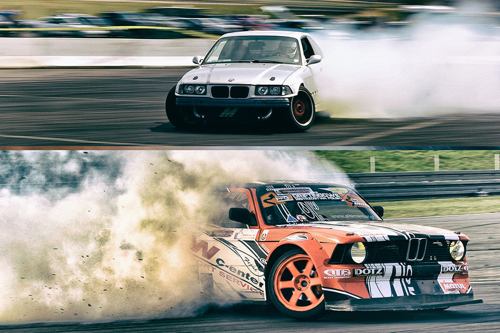 BMW M3 M5 Drifting Sports Cars Poster