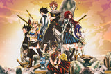 Fairy Tail Characters Anime Poster