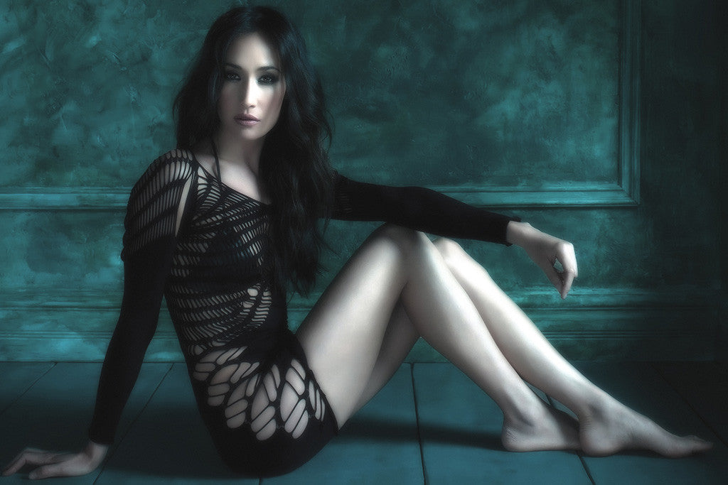 Maggie Q Hot Girl Poster