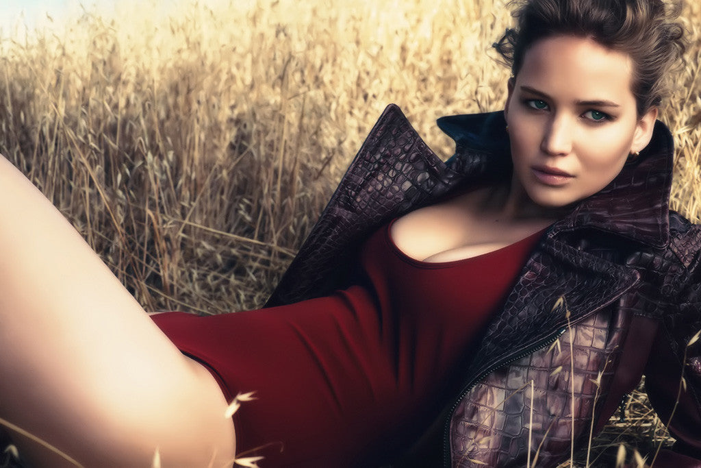 Jennifer Lawrence Hot Poster
