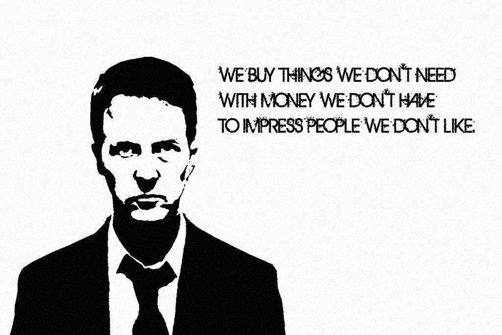 Fight Club Quotes Poster