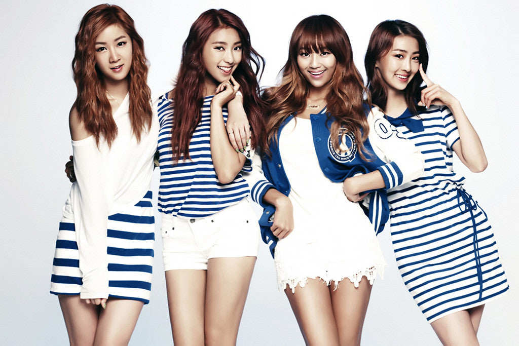 Hot girls group images Sistar Hot Korean Girls Group Poster My Hot Posters