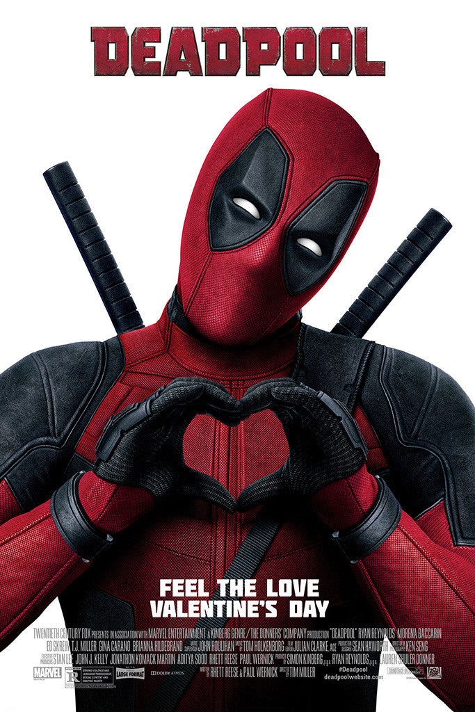Deadpool Valentines Day Poster  My Hot Posters-4486