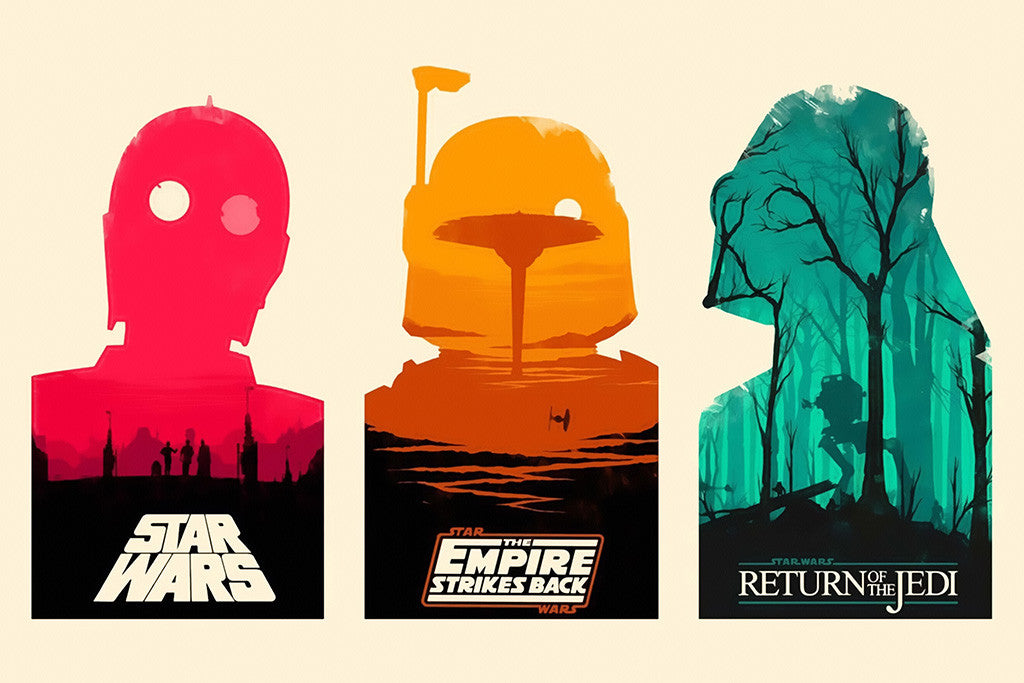Star Wars The First Trilogy Poster