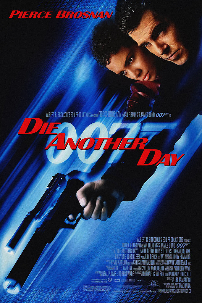 Die Another Day James Bond Poster