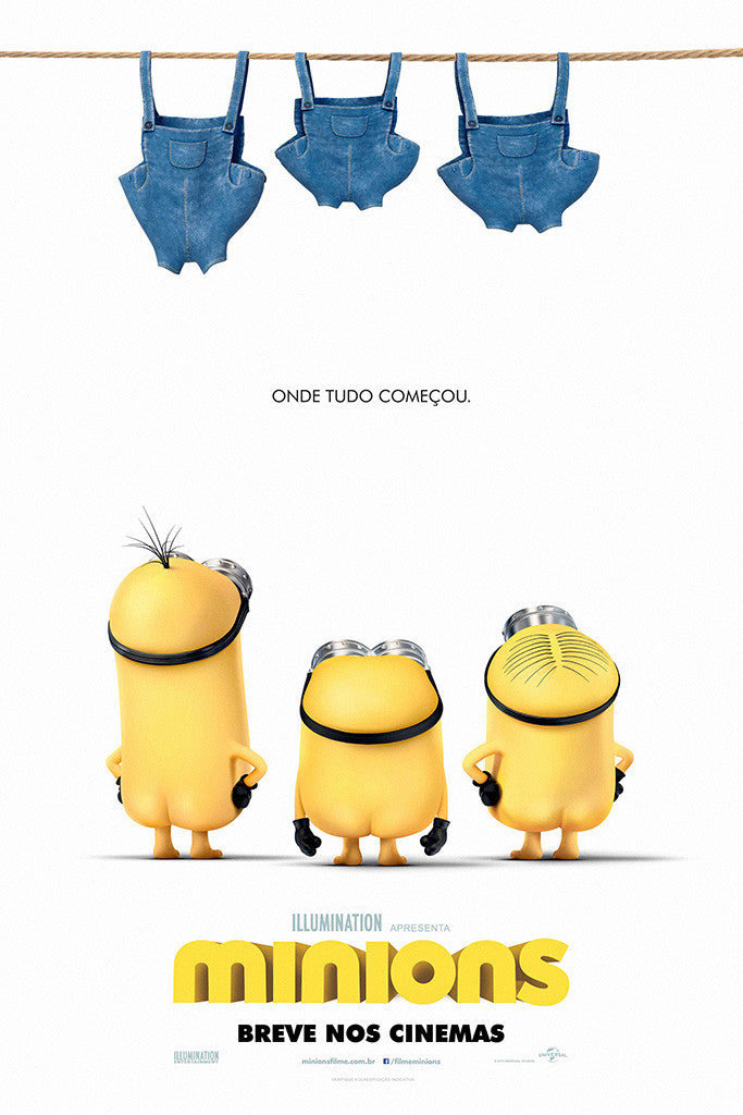 Minions Despicable Me 2 Poster