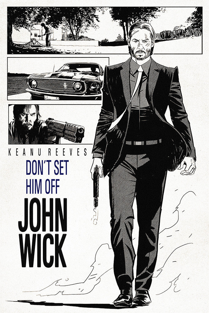 John Wick Movie Poster My Hot Posters